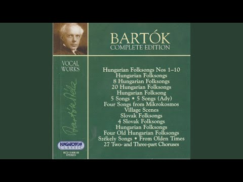 Download Four Songs from Mikrokosmos, for voice and piano - New Hungarian folksong 5. Mp4 baru