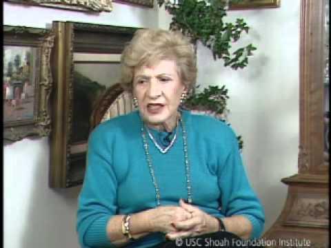 Jewish Survivor Susan Rapaport Testimony