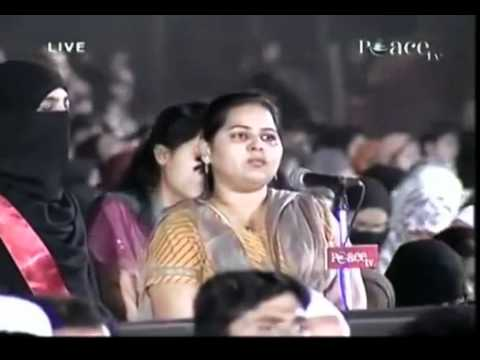 Dr Zakir Naik Peace Conference 2009 Open Question And Answer Session 18 28 video