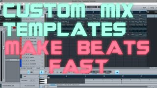 PreSonus Studio One Custom Mix Template | MAKE BEATS FAST |