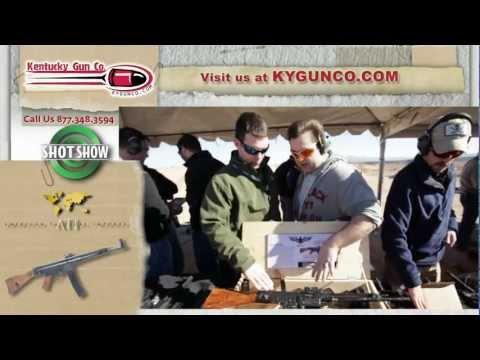 SHOT Show 2012 - ATI STG44 .22LR Review
