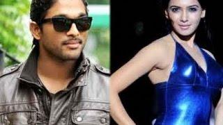Allu Arjun Speechless on Samantha's Reply