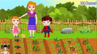 Thơ Nguyễn - Đồ chơi bé phụ mẹ làm vườn