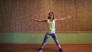 ShakeYourBodyDown (to the ground), by Michael Jackson - Zumba With Carolina B.
