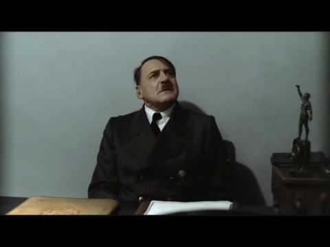 Hitler is informed Fegelein has locked him into his room