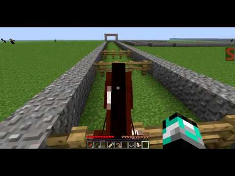 Minecraft 1.6.2 Horse update bemutató tutorial Svenboy al