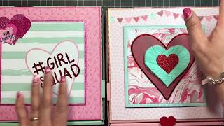 Valentine's Pizza Boxes & Rosette Wand!