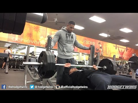 Bodybuilding Motivation | Chest Workout | Still Making Gains  hodgetwins gymshark video