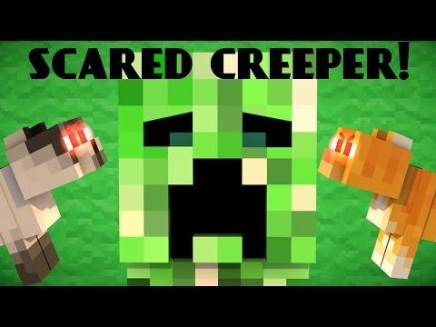 Why Creepers are scared of Cats - Minecraft