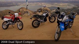 2008 Dual-Sport Motorcycle Comparison - MotoUSA