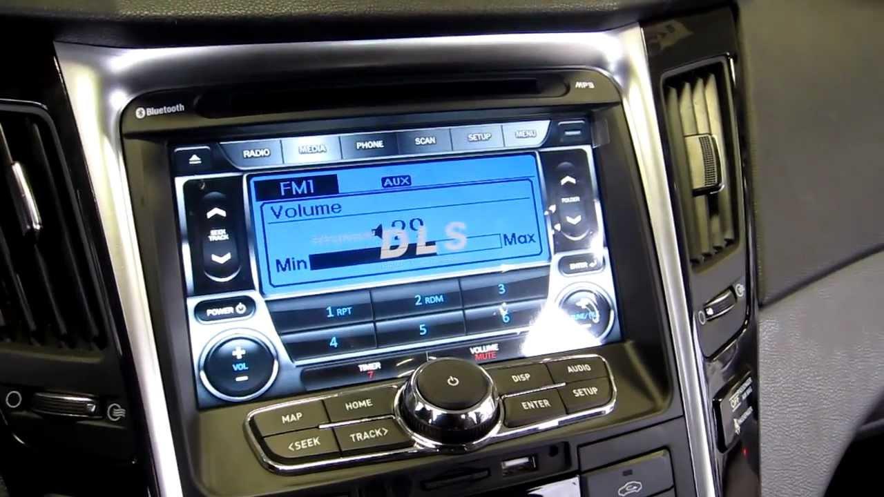 Navmax Hyundai Sonata Oem 8 Quot Touch Multimedia Navigation