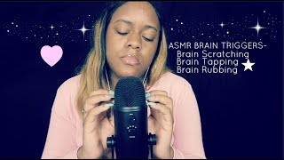 ASMR Brain Massage: Scratching, Tapping & Rubbing | Relaxing