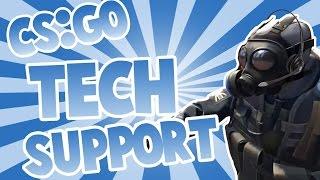 CS:GO TECH SUPPORT (CS:GO FUNNY MOMENTS)