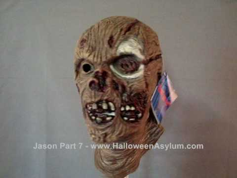 HalloweenAsylum.com Jason Part 7 Mask