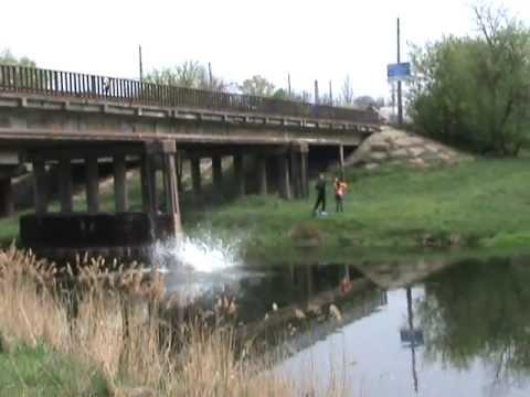 Дружковка прыжок с донского моста