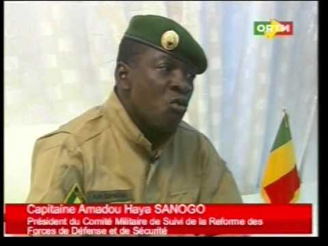 Mali:La mission du Capitaine Amadou Haya Sanogo au CMSRFDS