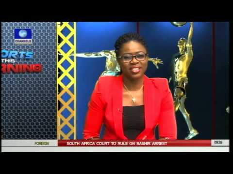 Sport This Morning: Nigeria's Swimming Team Preparing For Special Olympics -- 16/06/15 -- Pt 1