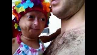Me & my Daddy going down a big waterslide! Adalia Rose (Official)