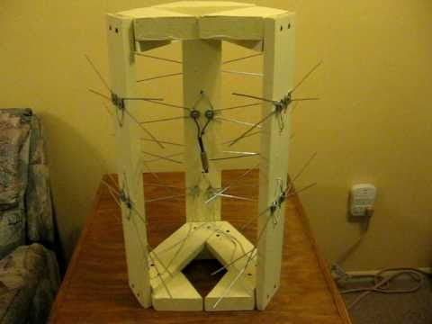 multi directional coat hanger HD TV antenna.AVI