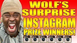 WOLF'S SURPRISE INSTAGRAM GIVEAWAYS!!!!