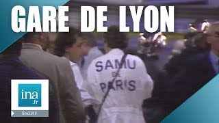 27 juin 1988 : les circonstances de l'accident de la Gare de Lyon | Archive INA