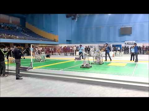 Robocon 2015- S.V.National Institute of Technology