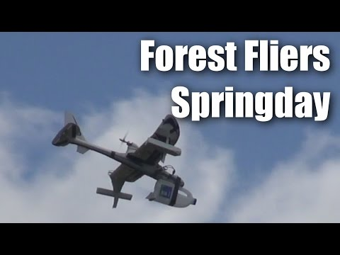 Flying RC planes with The Forest Fliers of Tokoroa, NZ