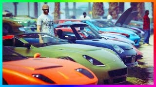 GTA ONLINE FAST & FURIOUS FREEMODE SPECIAL - ULTIMATE FAST AND FURIOUS GTA 5 CAR BUILDS! (GTA V F&F)