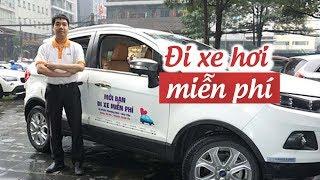 Ông viện trưởng hâm tử tế bắt khách cho đi xe hơi miễn phí