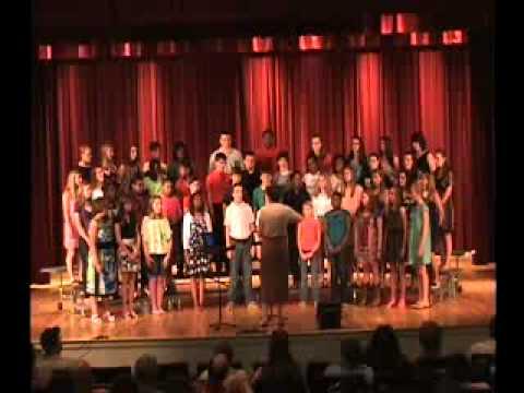 Hartsville Middle School Magnet Chorus, May 20, 2013