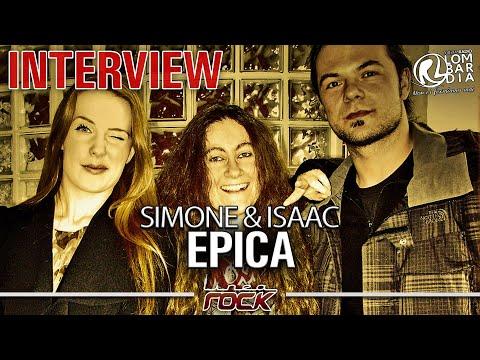 Simone Simons - Isaac Delahaye (Epica) interview on Linearock.it
