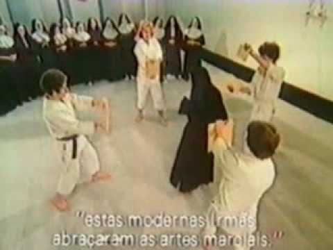 Thumbnail of video Martial Arts - Karate and Aikido - Nuns learn them as self-defense