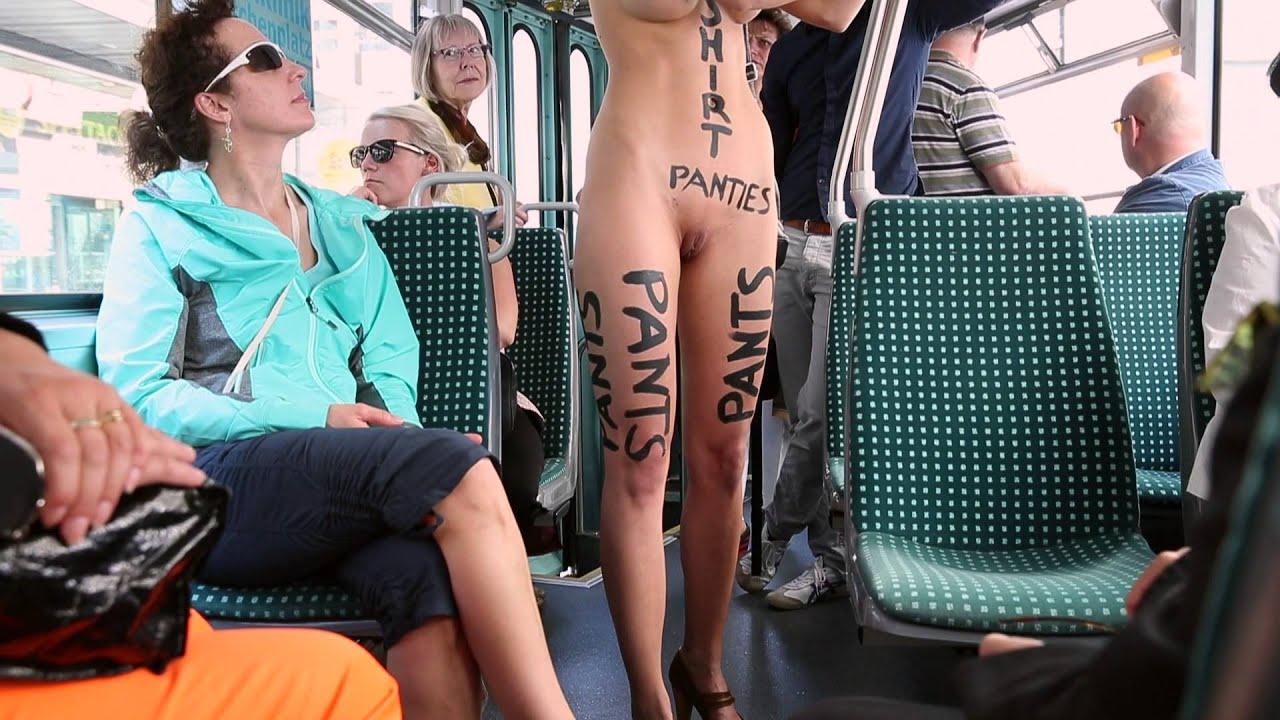 Секс в общественном автобусе 17 фотография