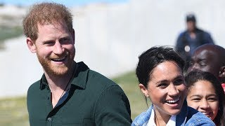Duke and Duchess of Sussex discuss the global issue of mental health on South Africa tour