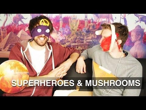 SUPERHEROES & MUSHROOMS!