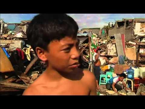 philippines typhoon 2013, the disaster left hundreds of children orphaned