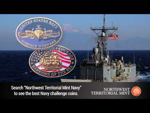 "Search: ""Northwest Territorial Mint Navy"""