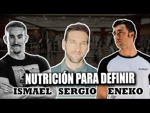 DIETA PARA DEFINICIÓN - Ismael Galancho Y Sergio Espinar