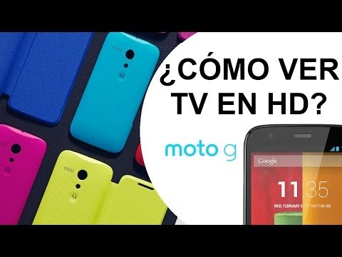 Motorola Moto G -  ¿Cómo ver la TV sin conexión a Internet? Unboxing + Review HD