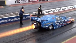 FireForce 3 Jet Car - 10000+ hp - 1/4 mile 5.95
