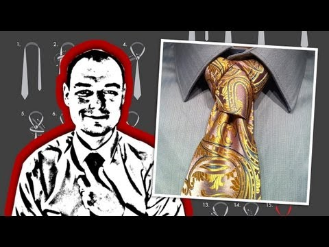 How to Tie a Cape Necktie Knot