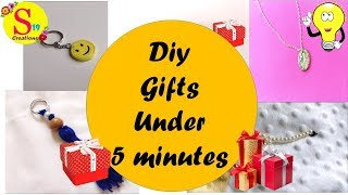 5 Easy diy gifts | Handmade gifts | Creative gift ideas in just 5 minutes | 5 - minute crafts