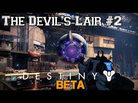 Destiny Beta Walkthrough Ep.7: The Devil's Lair - Level 6 Strike Mission (Part 2) [PS4 HD]