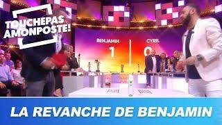 Benjamin Castaldi va-t-il enfin battre Cyril Hanouna au ping pong ?