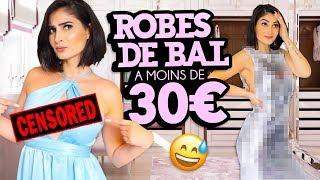 J'ESSAIE DES ROBES DE BAL A -DE 30€ DE SHEIN 🤦🏻♀️ Prom dress under 30€