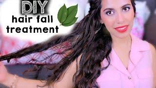 DIY HAIR LOSS TREATMENT: How to STOP HAIR FALL, Dandruff (Long Hair Natural Hair Care) Himani Wright