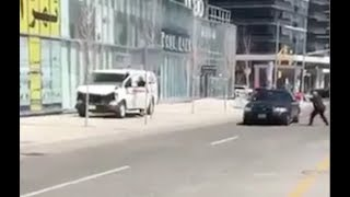 Video of Toronto van attack arrest from two bystander angles
