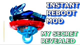 Beyblade MOD: How to Activate GENESIS VALTRYEK'S REBOOT from the START! Secret for SUPER FAST V3!!