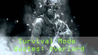 MW3: Overlord Quotes