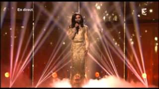 Eurovision 2014 Final Winning Performance Austria Conchita Wurst Rise like a Phoenix